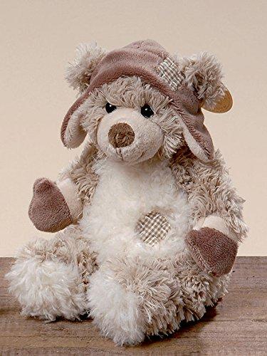 Niedlicher Plüschteddy mit Mütze 20 cm Bär