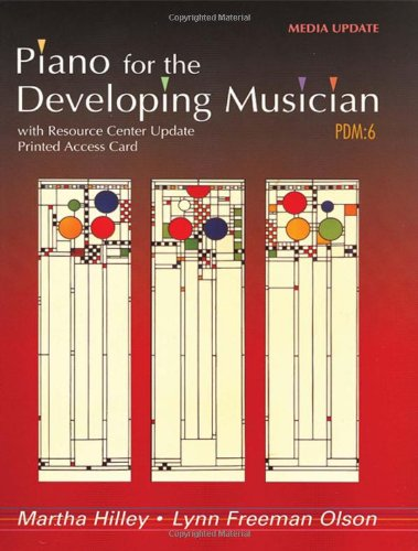 Piano for the Developing Musician, Media Update (with...