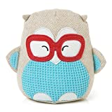 Montage Owl 6-inch Wearing Glasses Soft Toy