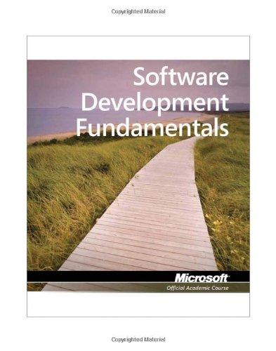 Exam 98-361: MTA Software Development Fundamentals