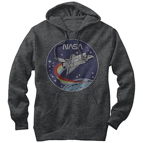 nasa-space-rocket-mens-graphic-lightweight-hoodie