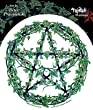 """Peter Pracownik - Ivy Pentagram Sticker Decal - 4.5"""" - Weather Resistant, Long Lasting for Any Surface"""