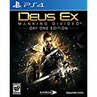 Deus Ex Mankind Divided for PlayStation 4