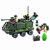 Militaire véhicule blindé avec la mise à feu Fusée & 2 Soudures pour la guerre 167pcs