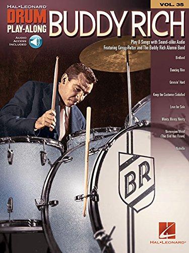Drum Play-Along: Volume 35: Buddy Rich (Hal-Leonard Drum Play-Along)