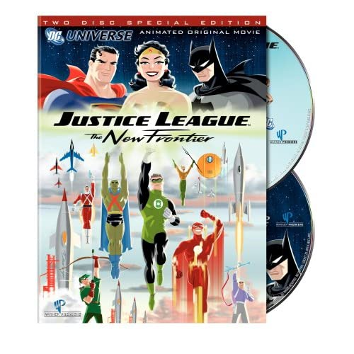 Justice League The New Frontier DvdRip VostFr preview 0
