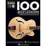 100 Jazz Lessons - Guitar Lesson Goldmine Series (Book/Online Audio)