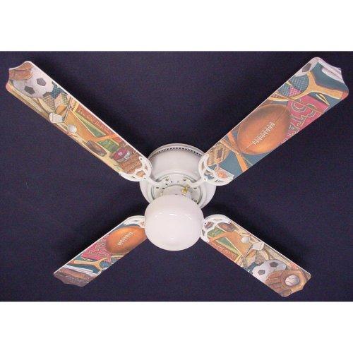Ceiling Fan Designers Ceiling Fan Designers Classic Sports Indoor Ceiling Fan, 42 in.