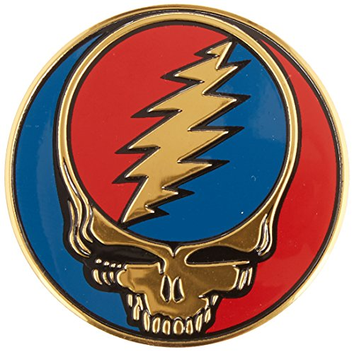 C&D Visionary Grateful Dead - SYF Metal Sticker Medium Size 1 5/8""