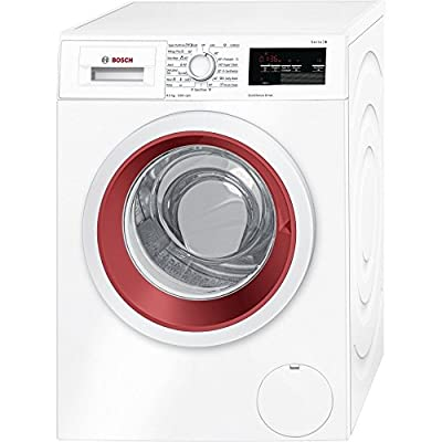 Bosch WAP24360IN Fully-automatic Front-loading Washing Machine (9 Kg, White and Maroon)