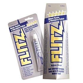 Flitz International Multi Purpose Metal Polish, 5.29-Ounce