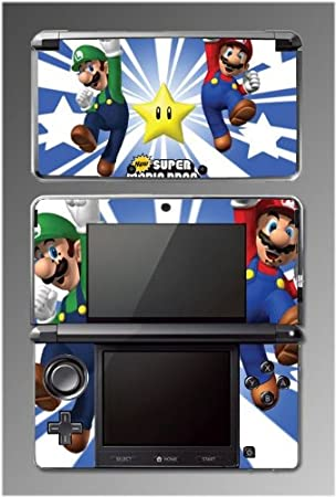 Super Mario Bros Brothers 3D Land Luigi World Yoshi Game Vinyl Decal Cover Skin Protector 12 Nintendo 3DS