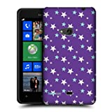 Head Case Purple Sky Star Pattern Protective Back Case Cover For Nokia Lumia 625