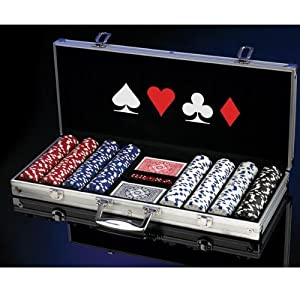 Click to buy EXCALIBUR ELECTRONIC WSOP Professional 400 11.5 Gram Poker Chip Set 2064A-2from Amazon!