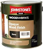 2.5 LTR JOHNSTONE'S WOODWORKS OPAQUE WOOD FINISH SATIN RUSSET