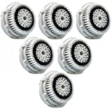 Maeline Replacement Brush Head for Sensitive Cleansing & Delicate Skin (GENERIC) - 6pc Pack