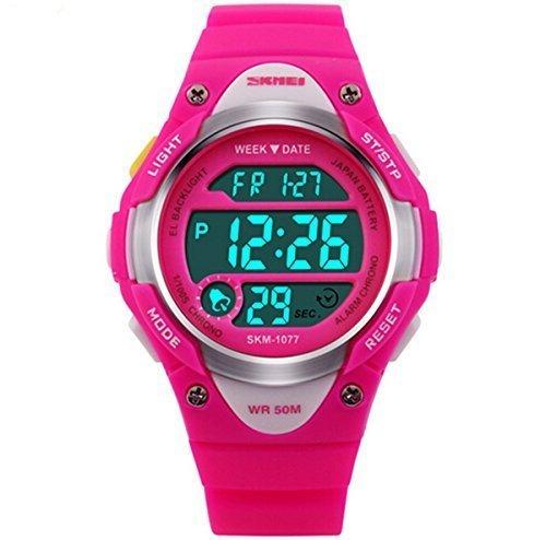 Misskt-Children-Watch-Outdoor-Sports-Kids-Boy-Girls-LED-Digital-Alarm-Stopwatch-Waterproof-Childrens-Dress-Watches-Rose-red