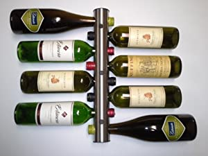 8 Bottle Wine Rack Wine Accessories work well in your Home & Kitchen for Storage & Organization and in your Kitchen & Dining Area.
