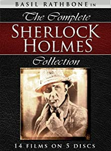 amazoncom the complete sherlock holmes collection basil