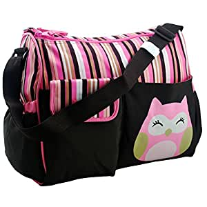 nimnyk large baby diaper wet bag for girls newborn twins changing pad best. Black Bedroom Furniture Sets. Home Design Ideas