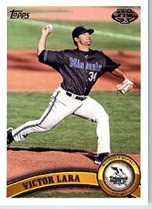 2011 Topps Pro Debut Baseball Card # 104 Victor Lara Missoula Osprey MiLB (Prospect... by Topps