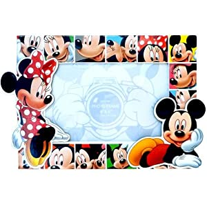 com - Disney Mickey Mouse and Minnie Mouse Photo Frame - Single Frames