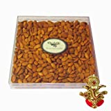 Chocholik Almond Surprise Gift Box, 800gm - Chocholik Dry Fruits With Ganesha Idol