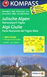 KompassMaps Julian Alps - NP Triglav - Bled (Slovenia) 1:25.000 topographic hiking map #064 KOMPASS