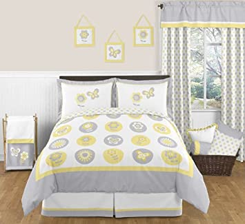 yellow bedding sets for girls KEhXZ8Ou