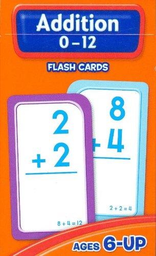Addition 0-12 Flash Cards - School Zone Publishing Company Staff