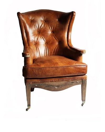 Melange Home Sterling Armchair, Whisky Brown