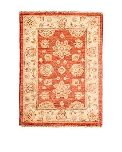 RugSense Teppich Zigler Extra rot/beige 89 x 59 cm