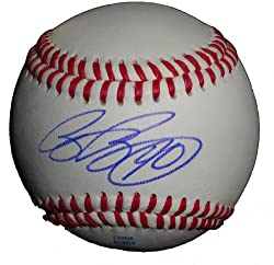 Brian Bruney Autographed ROLB Baseball, Chicago White Sox, New York Yankees, Proof Photo