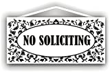 No Soliciting Sign for Indoor or Outdoor use by MySigncraft