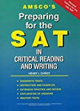 img - for Amsco's Preparing for the SAT in Critical Reading and Writing book / textbook / text book