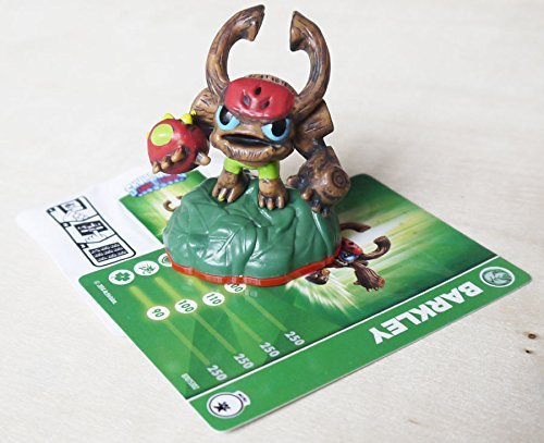 Skylanders Trap Team Barkley mini Figure &Card & Code Loose - 1