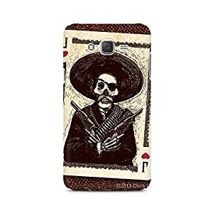 Mobicture Skull Abstract Premium Printed Case For Samsung J7 2016 Version