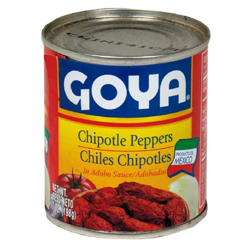 Buy Goya Chipotle Peppers, 7-Ounce Cans (Pack of 12) (Goya Foods Inc, Health & Personal Care, Products, Food & Snacks, Canned & Packaged Goods, Vegetables, Peppers)