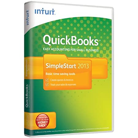 QuickBooks  SimpleStart 2013  1 User (PC)