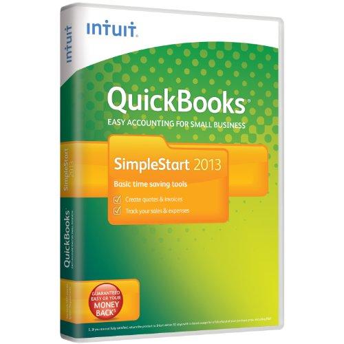 QuickBooks  SimpleStart 2013  1 User (PC)