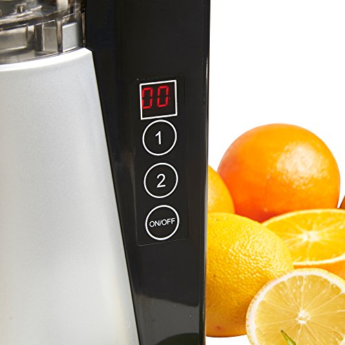 vonShef Digital Slow Masticating Juicer with 2 Speeds, Reverse Function, Ultra-Quiet Motor ...