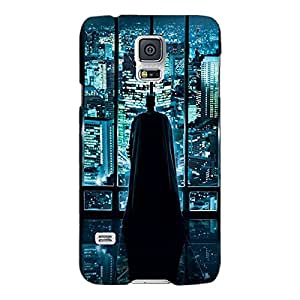 Jugaaduu Superheroes Batman Dark knight Back Cover Case For Samsung Galaxy S5