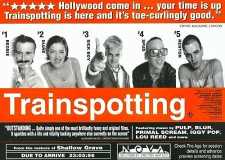 Trainspotting Poster uk Trainspotting Poster Movie f