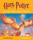 Harry Potter and the Order of the Phoenix (Book 5 - Part 1 - Unabridged Audio Cassette Set)