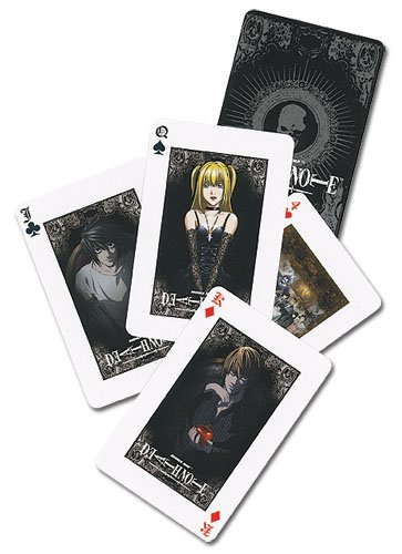 Death Note: Death Note Poker Playing Cards - 1