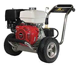 B E Pressure PE-4013HWPSCAT Gas Powered Pressure Washer