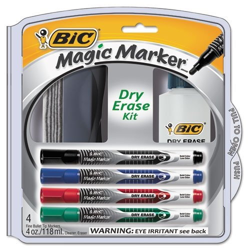 BICDEPKITP61 - Magic Marker Low Odor & Bold Writing Pen Style Dry Erase Marker