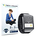 Tech Armor Samsung Galaxy Gear Live High Defintion (HD) Clear Screen Protectors - Maximum Clarity and Touchscreen Accuracy [3-Pack] Lifetime Warranty