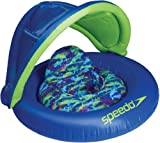 Speedo Kid's Begin to Swim Fabric Baby Cruiser with Canopy, Blue