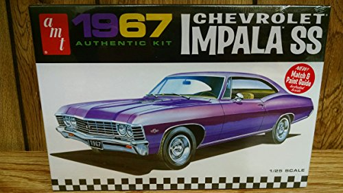 AMT 981 1967 Chevrolet impala SS 1:25 Scale Plastic Model Kit - Requires Assembly (Amt Model Kits compare prices)